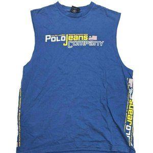 Vintage 90s Ralph Lauren Polo Jeans Muscle Shirt M